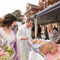 French market in Akaroa