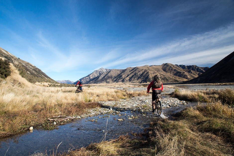 Located 90 minutes from Christchurch, you can easily access one of the best mountain biking tracks in the South Island, St James Cycle Trail.