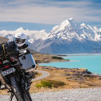 Touring the South Island by bike