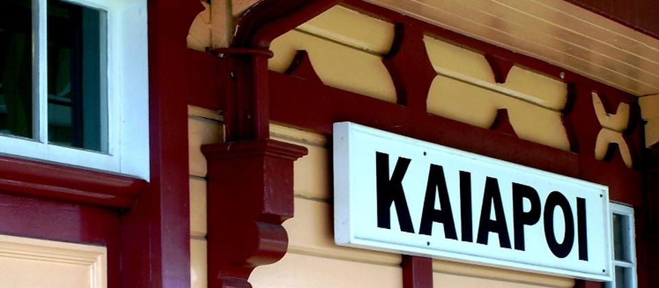 The Christchurch-Kaiapoi railway line opened in 1872.