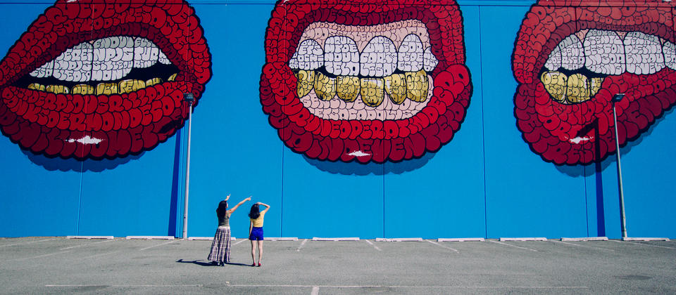 New Zealand's oldest city is getting a facelift, with street art popping up all over the city