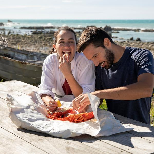 Feast on crayfish in Kaikōura