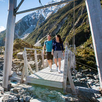 Walk the Hooker Valley Track in 4 hours and experience awesome views