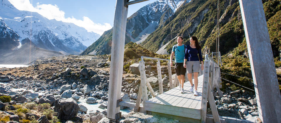 Hooker Valley Track, Monte Cook
