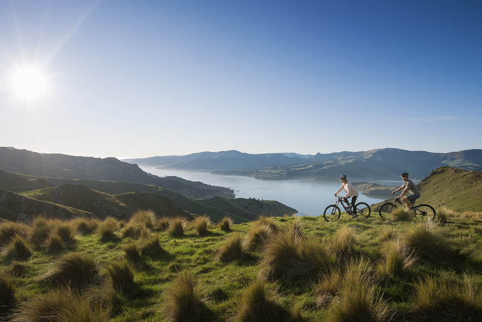 Enjoy a scenic ride 15 minutes from Christchurch City