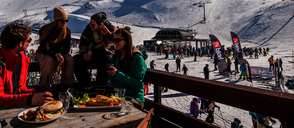 Lunch on Mount Hutt
