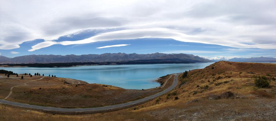 The Pukaki Kettlehole Track at Lake Pukaki.