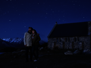 Stargazing at Lake Tekapo