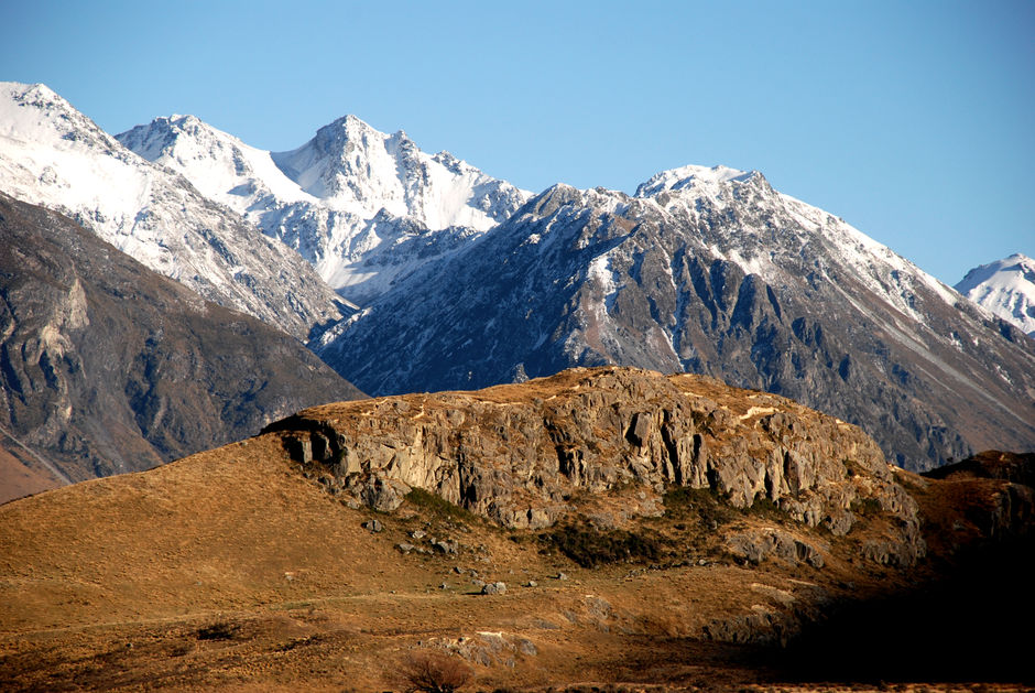 Mount Sunday was the location for Edoras in The Lord of the Rings Trilogy.