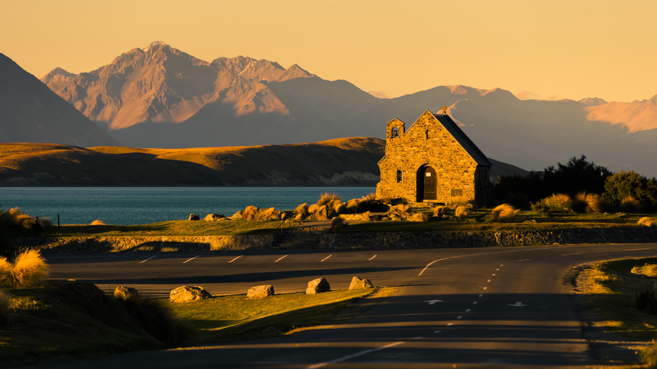Church of the Good Shepherd am Lake Tekapo.