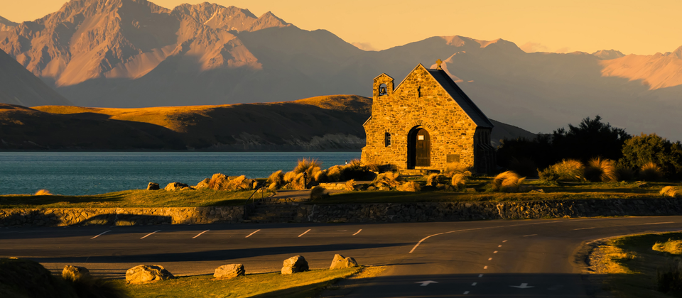 The Church of the Good Shepherd at Lake Tekapo