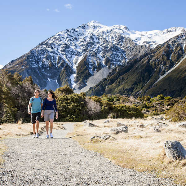 You don't have to be an experienced hiker to discover New Zealand's wilderness areas.