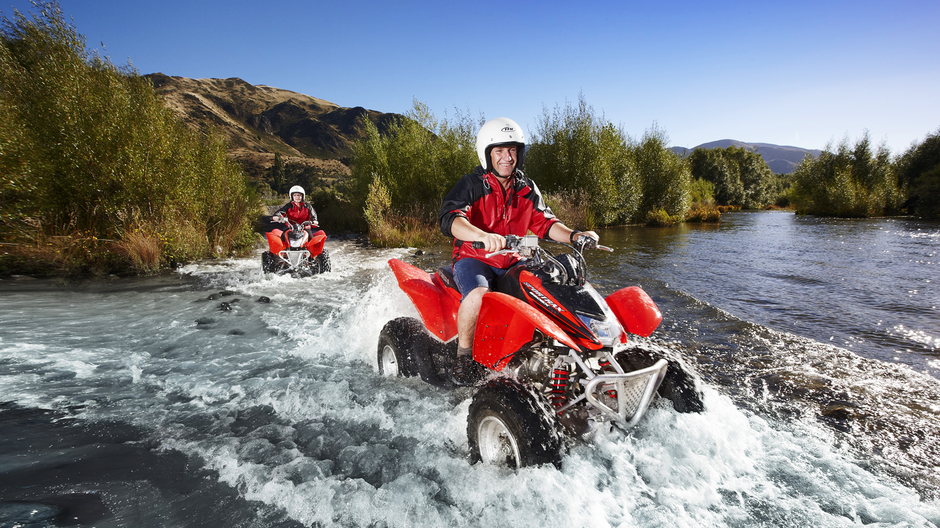 Four-wheel-drive tours make it easy to explore remote areas of natural beauty