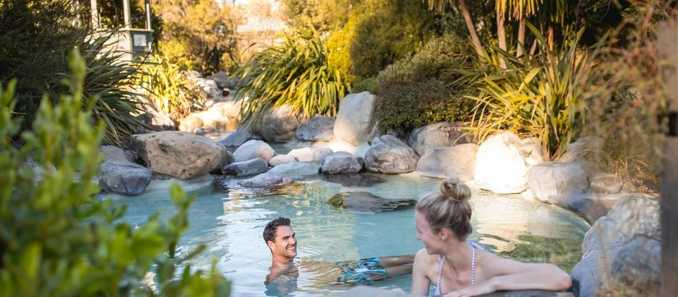Spend some time relaxing in the award-winning natural hot pools of Hamner Springs Thermal Pools and Spa.