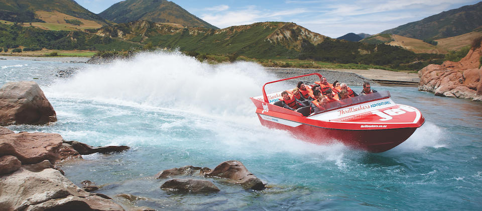 Hanmer Springs Jet-boating