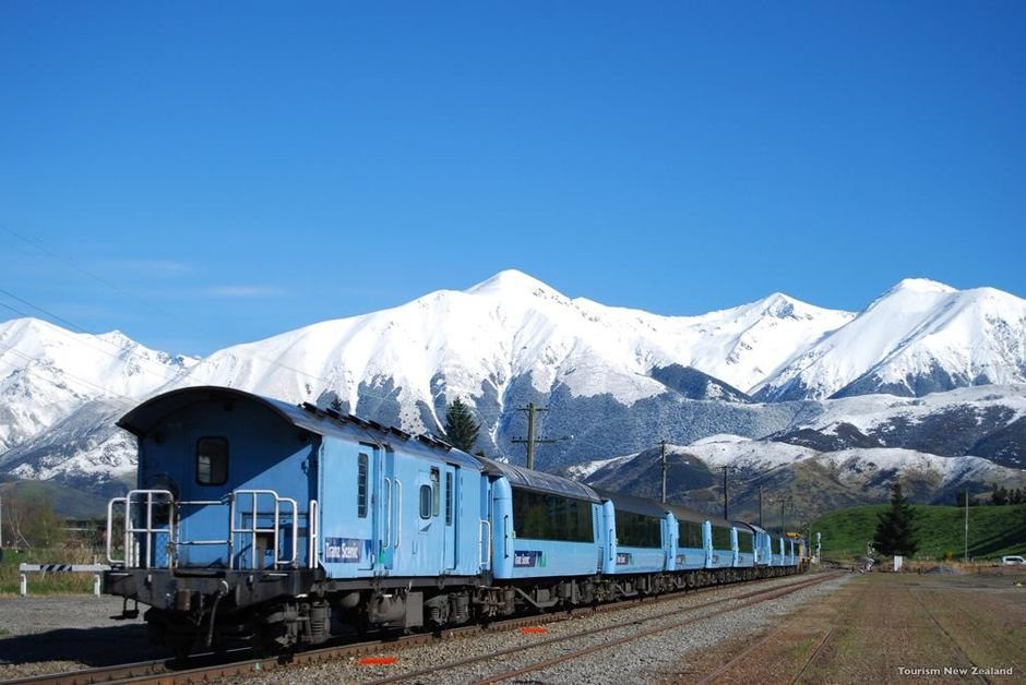 The TranzAlpine is New Zealand's most famous rail journey