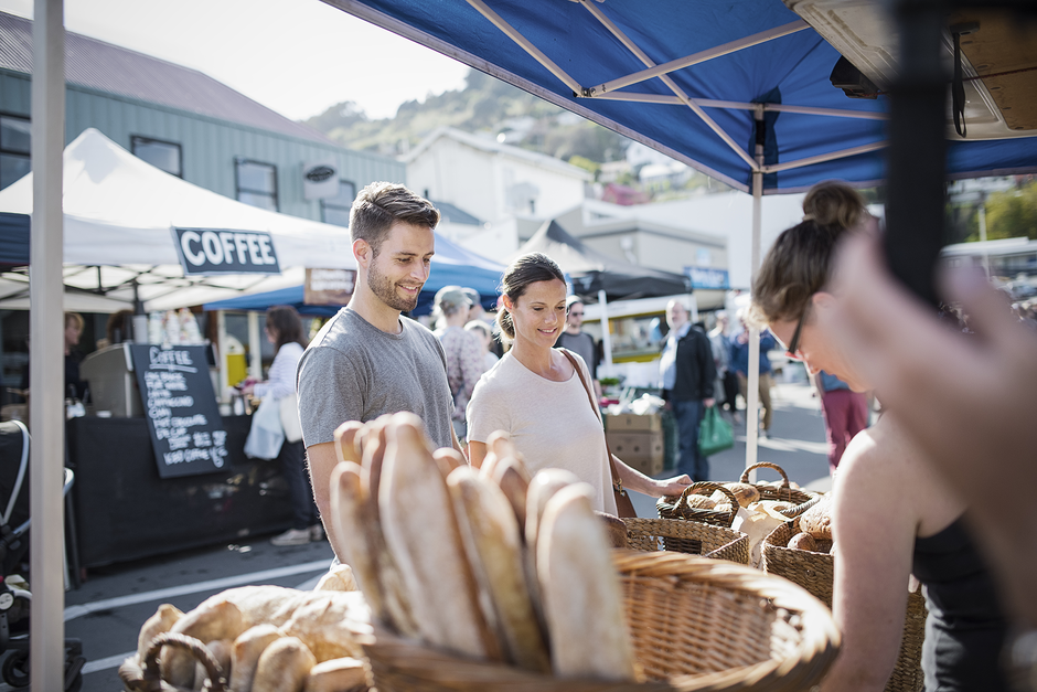 Enjoy scrumptious homemade goodies at Lyttelton Farmers' Market, open every Saturday 10am - 1pm.