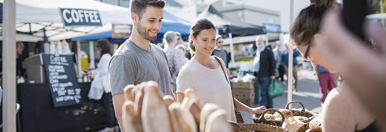 Enjoy scrumptious homemade goodies at Lyttelton Farmers' Market, open every Saturday 10am - 1pm.