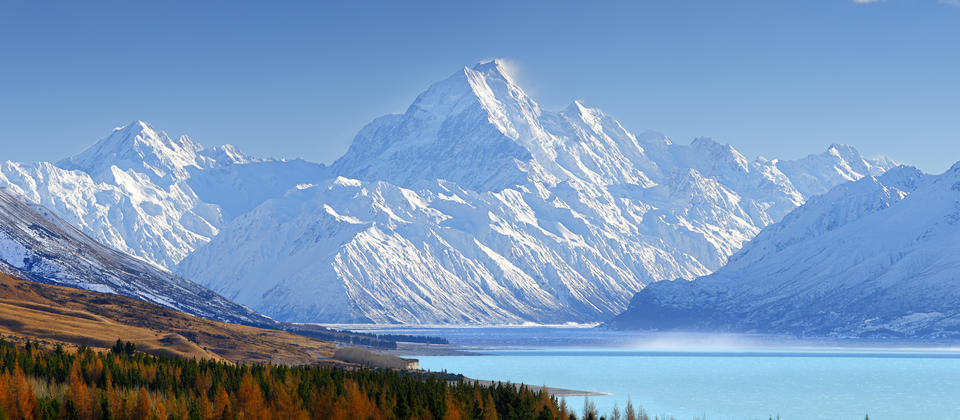 Late autumn in Aoraki/Mount Cook National Park.