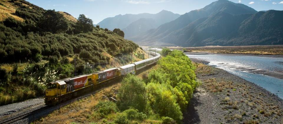 Enjoy the world's most scenic train journey