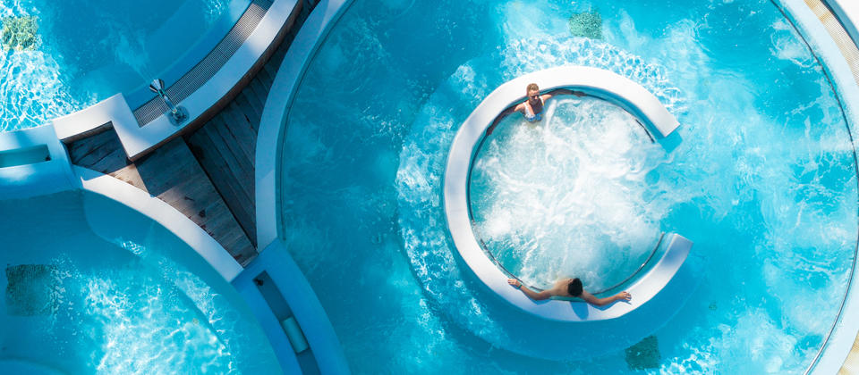 Aqua therapy pool, Hanmer Springs Thermal Pools & Spa