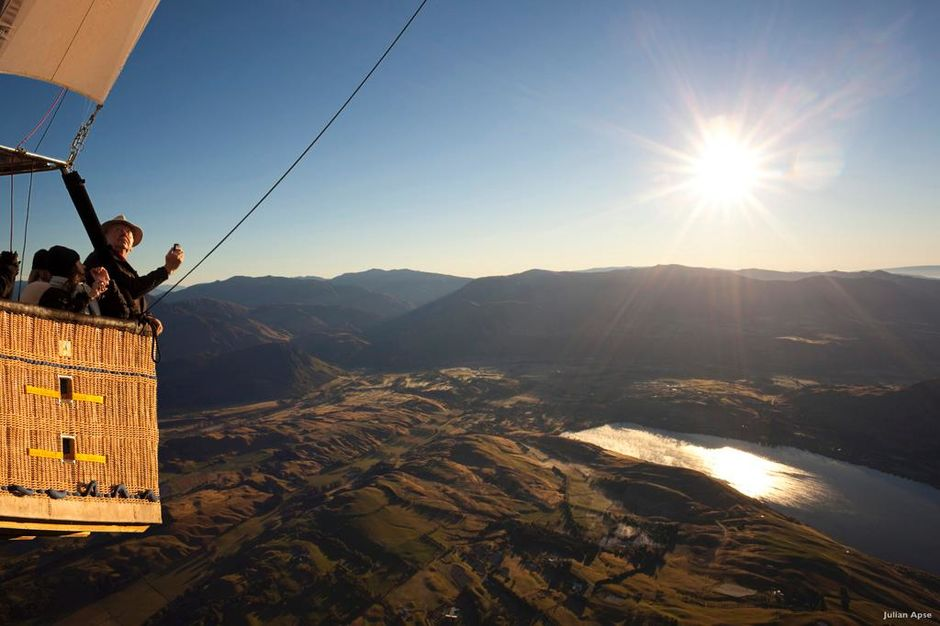 A hot air balloon ride in New Zealand will be with you forever. It's one of life's most uplifting experiences.