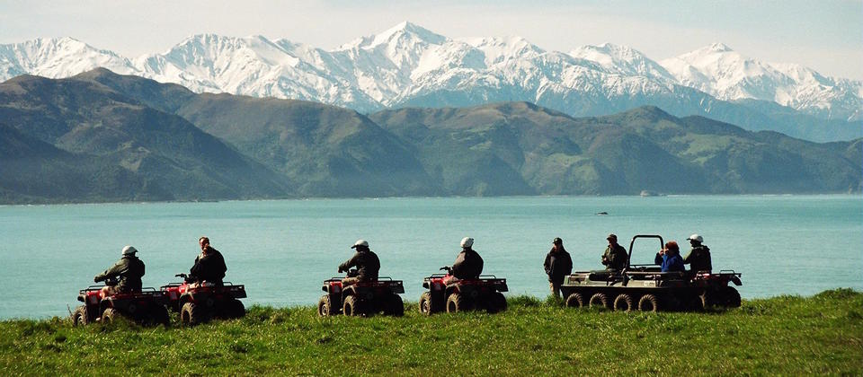 For an inland adventure head off road with Glenstrae 4 Wheeler Adventures.