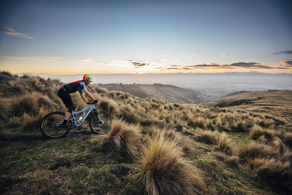One of Christchurch's most-loved landscapes, the Port Hills, are home to amazing mountain biking tracks.