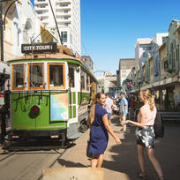 Enjoy a spot of shopping in Christchurch central.