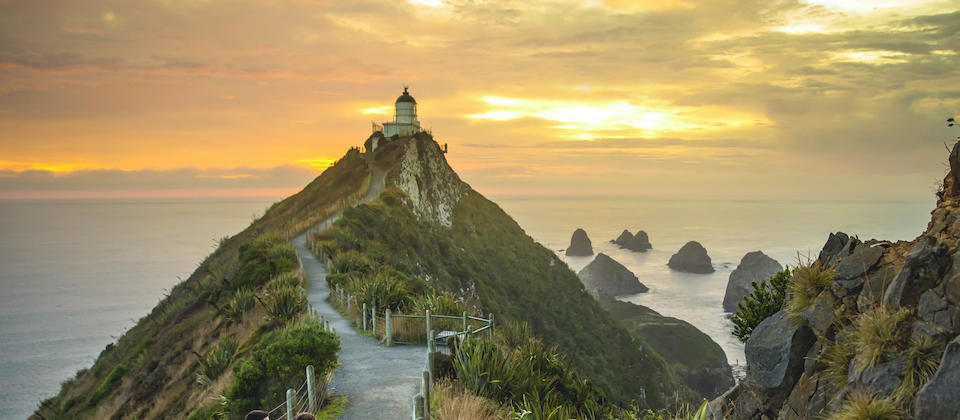 Nugget Point on the Catlins Coast