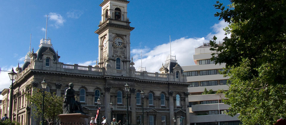 Municipal Chambers - The Octagon Dunedin New Zealand