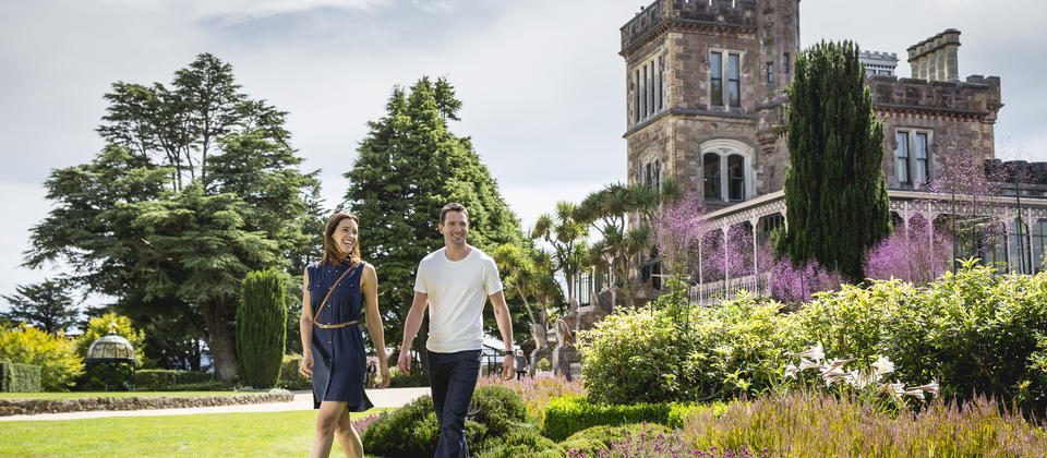 Exploring the historic Larnach Castle