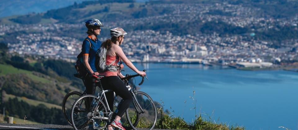 Cycling the Otago Peninsula