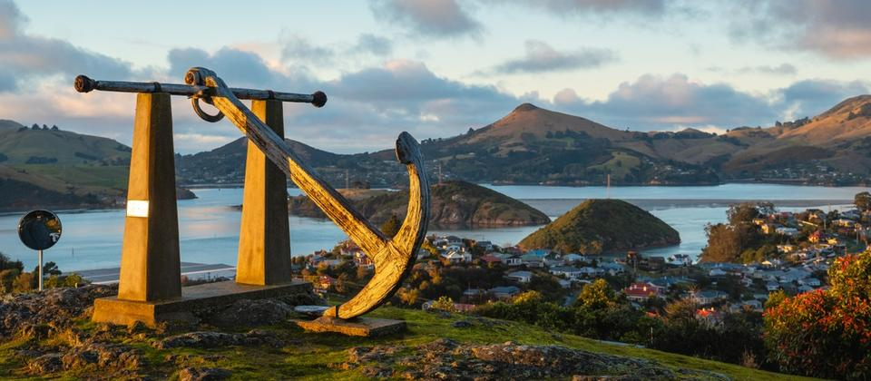 Port Chalmers scenic lookout