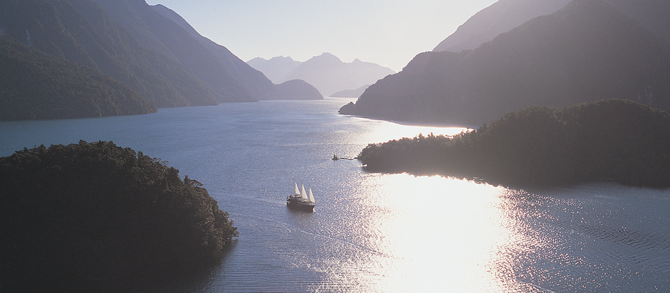 Overnight cruise in Doubtful Sound