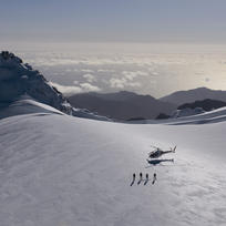 A snow landing adds an extra level of fun to your alpine scenic flight in Queenstown and Mt Cook.