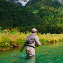 Fly fishing in the South Island of New Zealand - unmissable.