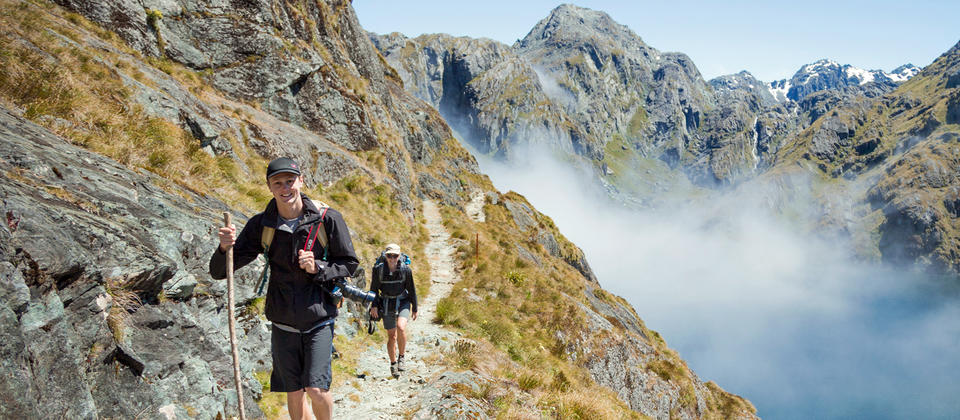 Walk the Routeburn Track, one of our most popular Great Walks or hikes.