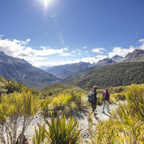 The extraordinary sub-alpine and alpine landscapes on the Routeburn Track are surprisingly easy to get to.