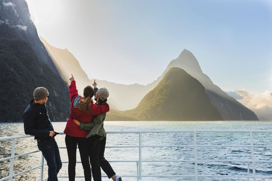 No matter what method you chose to get on the water, visiting Milford Sound in Fiordland is a must.