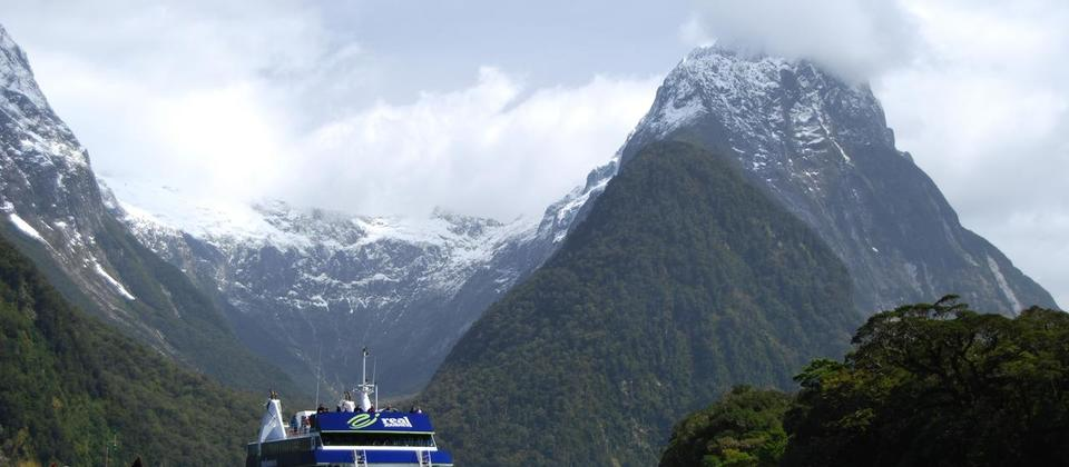 Sail through the magical waters of Milford Sound
