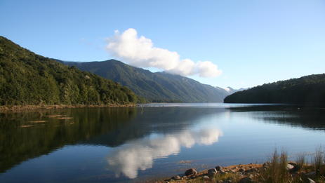 Travel to this stunning location at the southern end of Fiordland National Park