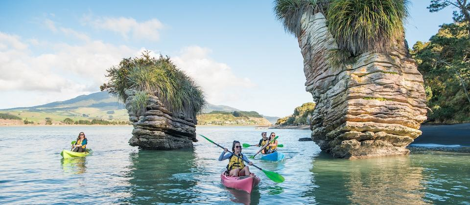 Kayaking - Raglan