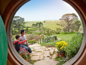 Step inside the Hobbit Holes