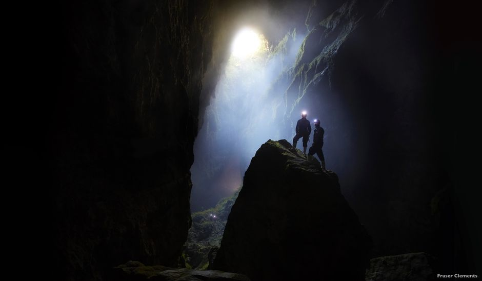 Look for goblins lurking round corners in the fascinating Waitomo Caves