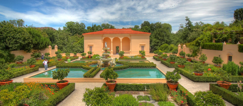 Escape to the picture-perfect Italian Garden