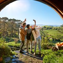For your own Middle-earth adventure, daily tours are available to visit the original Hobbiton Movie Set.