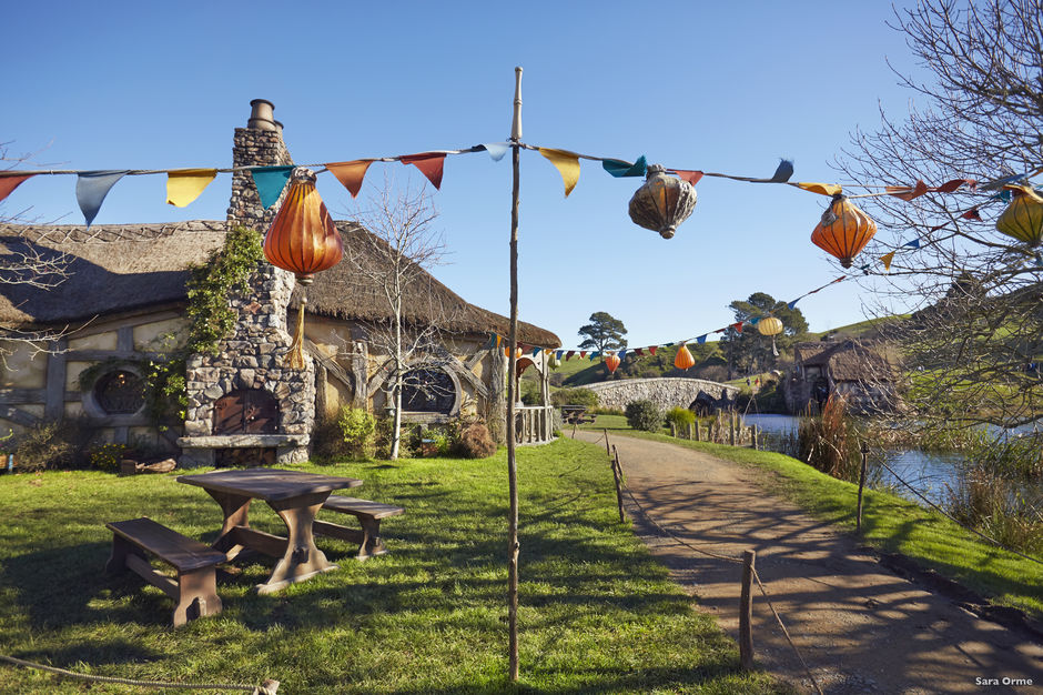 Matamata- the home of the Hobbiton Movie Set