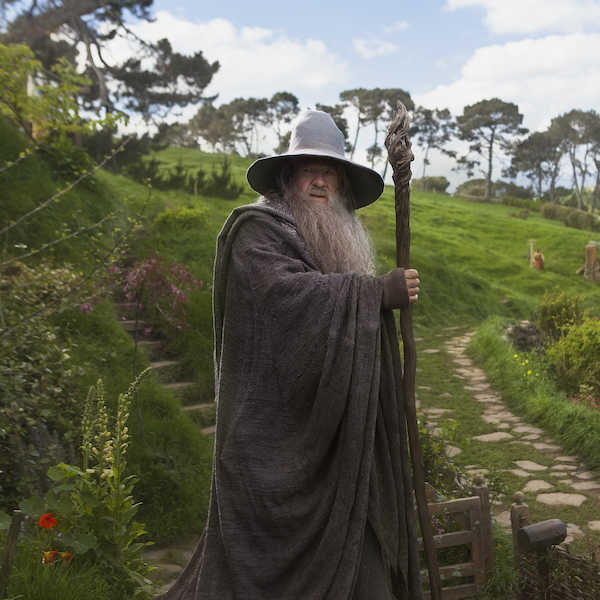 Gandalf à Hobbitebourg