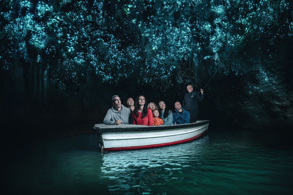 Discover the Waitomo Glowworm Cave